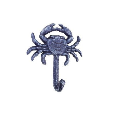 Beata Cast Iron Wall Mounted Wall Hook Color: Purple