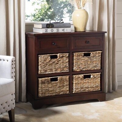 Sutherland 6 Drawer Chest Color: Dark Cherry