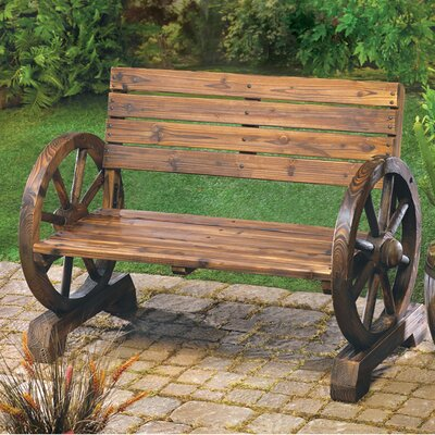 Ketcha Wood Garden Bench Wayfair