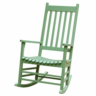 Standish Rocking Chair Frame Color: Moss