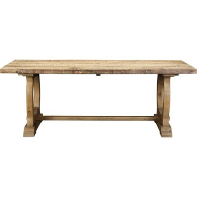 Domenic Mountain Dining Table Finish: Natural