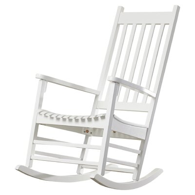 Standish Rocking Chair Frame Color: White