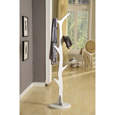 Woodland Park Coat Rack Finish: White
