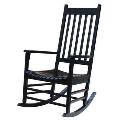 Standish Rocking Chair Frame Color: Black