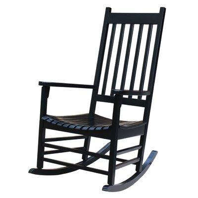 Standish Rocking Chair Frame Color: Black