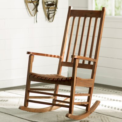 Standish Rocking Chair Frame Color: Oiled