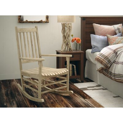 Standish Rocking Chair Frame Color: Unfinished