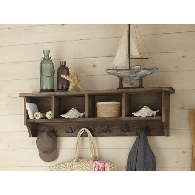 Dante Wall Mounted Coat Rack with Storage