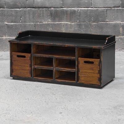 Windom Ridge Wood Storage Bench