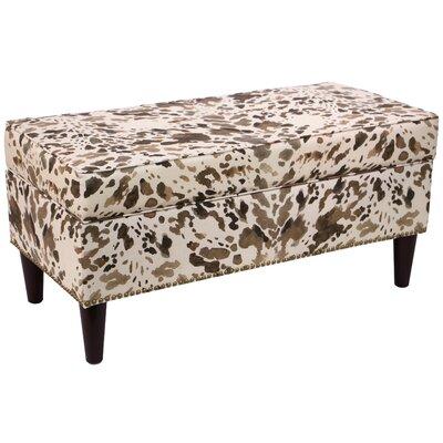 Fennimore Linen Upholstered Storage Bench
