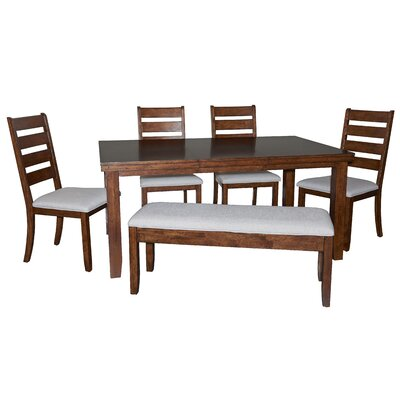Geduhn 6 Piece Extendable Dining Set
