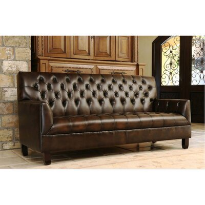 Clickett Bonded Leather Sofa
