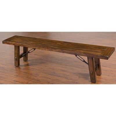 Loon Peak Hardin Wood Bench LNPK2293