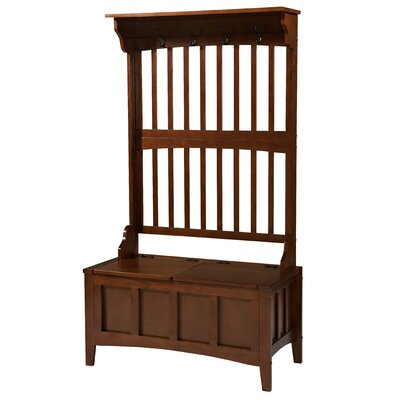 Keystone Hall Tree with Storage Bench