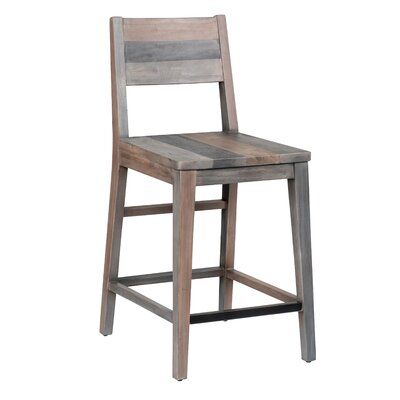 """Abbey Bar & Counter Stool Color: Charcoal, Seat Height: Counter Stool (24"""" Seat Height)"""