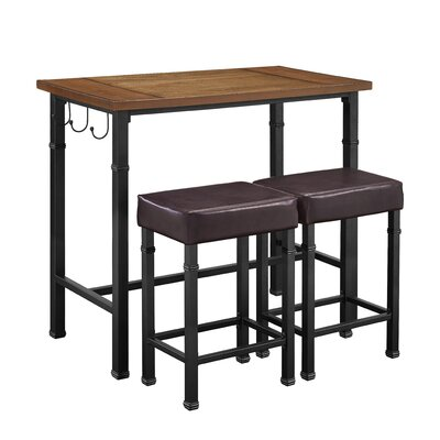 Trent Austin Design Billancourt 3-Piece Pub Table Set