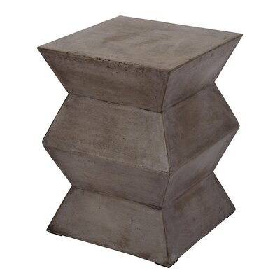 Concord Folded Cement Stool
