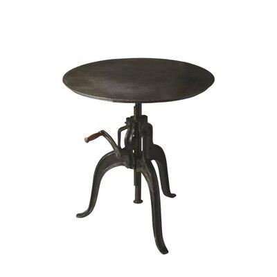"""Laraine Console Table Size: 30.5"""" H x 30"""" W x 30"""" D, Color: Black"""