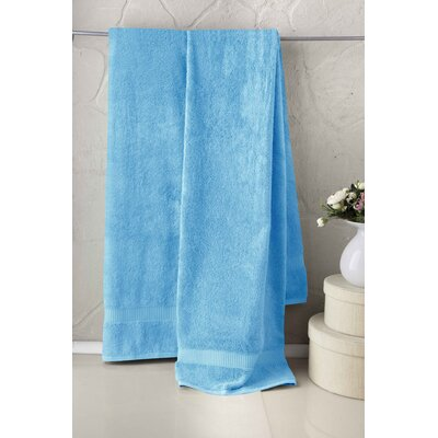 Holdenville Turkish Cotton Bath Towel Color: Aqua