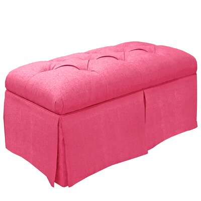 Tracy Upholstered Bench Color: Duck French Pink