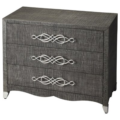 Sabra Raffia 3 Drawer Chest