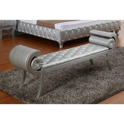 Neston Bench Color: Platinum