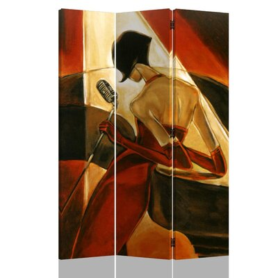 Hervey Bay Canvas Painting 3 Panel Room Divider