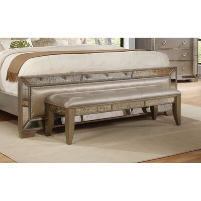Willa Arlo Interiors Dowson Wood Bench
