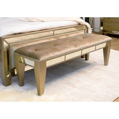 Willa Arlo Interiors Alasdair Wood Bench