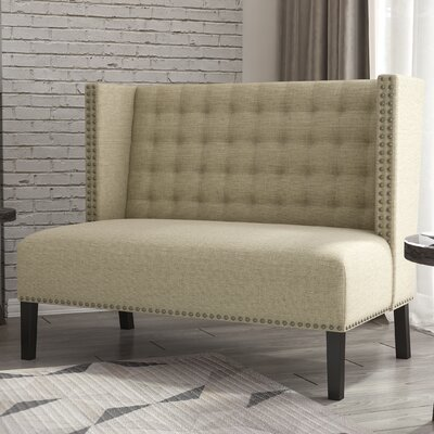 Veroniza Upholstered Bench Color: Hemp