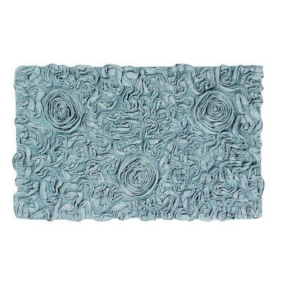 """Pascoe Bath Rug Color: Blue, Size: 21"""" W x 34"""" L"""