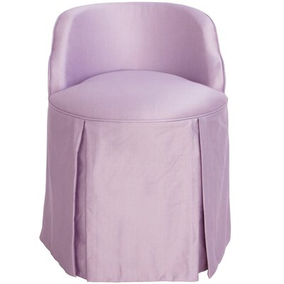 Zanuck Vanity Chair Color: Lilac