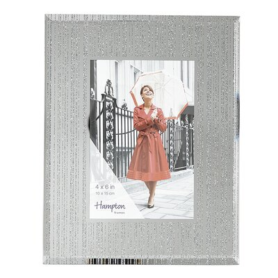 HamptonFrames Limoges Mirror Glitter Glass Picture Frame