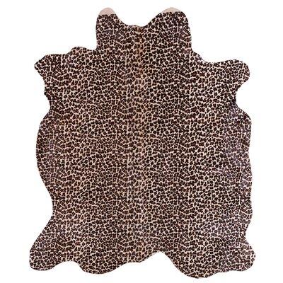 Doris and Boris Leopard Tonal Multi-Coloured Area Rug