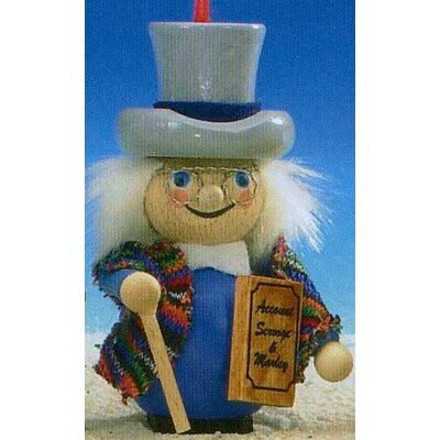 Steinbach Scrooge Dickens Christmas Carol Ornament
