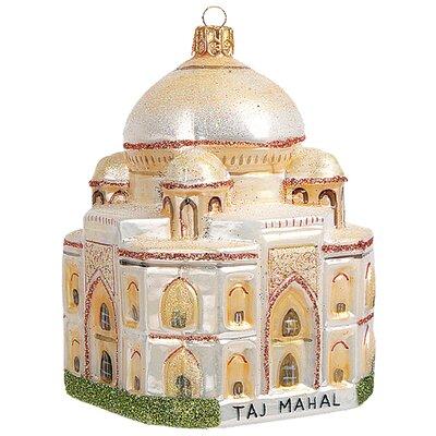 Pinnacle Peak Glass Taj Mahal India Christmas Ornament