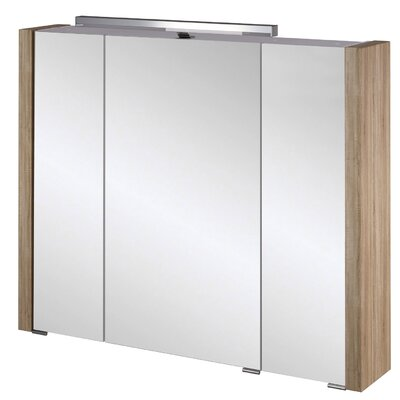 Schildmeyer Asbach 88cm x 75cm Surface Mount Mirror Cabinet
