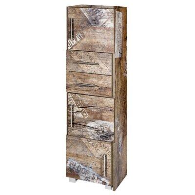 Schildmeyer Dafina 68 x 133cm Free Standing Tall Bathroom Cabinet