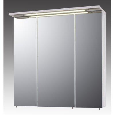 Schildmeyer Melkor 70cm x 73cm Surface Mount Mirror Cabinet