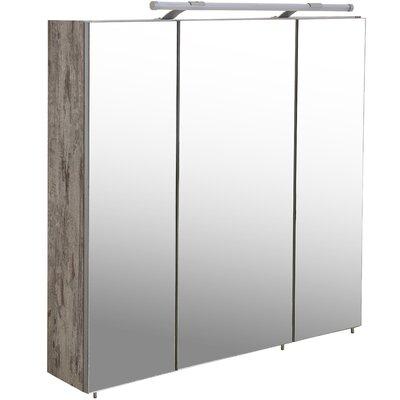 Schildmeyer Arubas 70cm x 75cm Surface Mount Mirror Cabinet