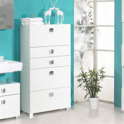 Schildmeyer Ringler 65 x 133.5cm Free Standing Tall Bathroom Cabinet