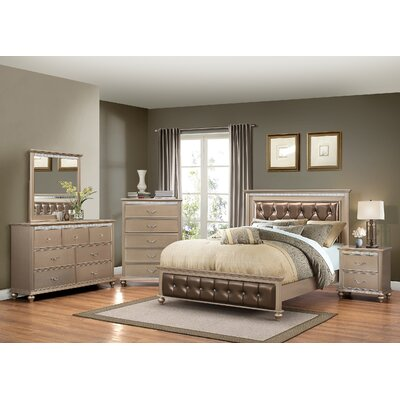 simmons casegoods hollywood panel customizable bedroom set