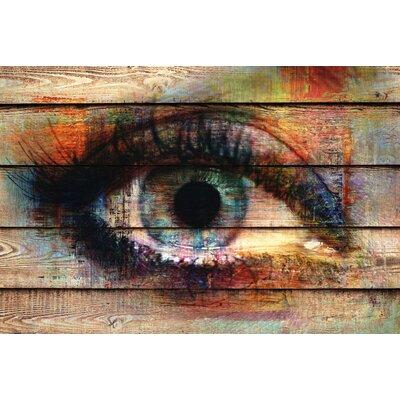 ArtAndPleasure UK Planks Art Print Plaque