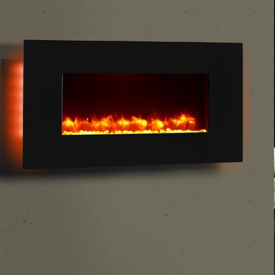 Remote Control Wall Mounted Electric Fireplace
