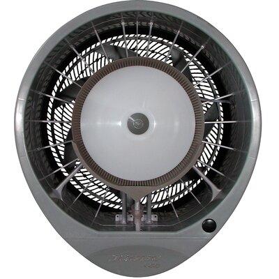 "Hurricane 660 16"" High Velocity Wall Fan Finish: Grey"