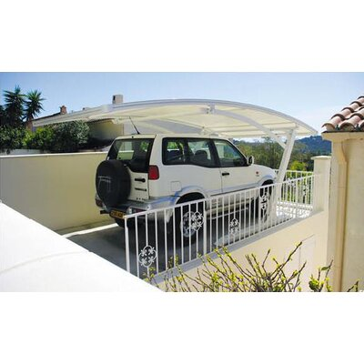 10 Ft. x 19.5 Ft. Canopy Color: White