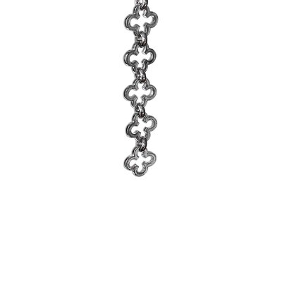 Un-welded Link Chain Finish: Polished Nickel