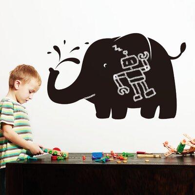 Walplus Blackboard Elephant Shaped Wall Sticker