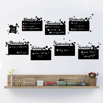 Walplus Blackboard Adult Home Diary Note Wall Sticker