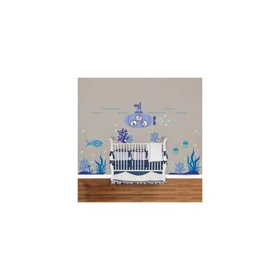 Walplus Ocean Underwater World Wall Sticker
